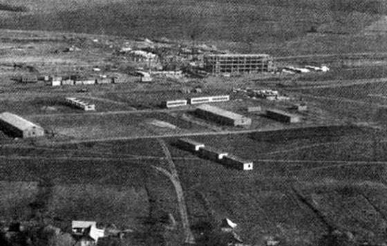 1974 год – начало строительство химического завода